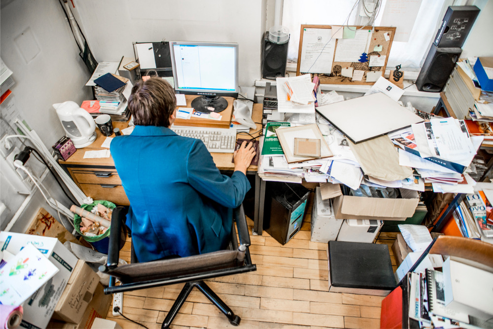 What A Messy Office Says About You And Your Business
