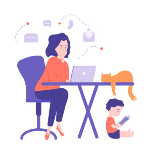 woman-working-from-home