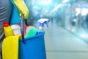 cleaning-supplies-in-bucket