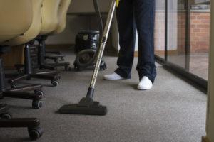 office-vacuuming