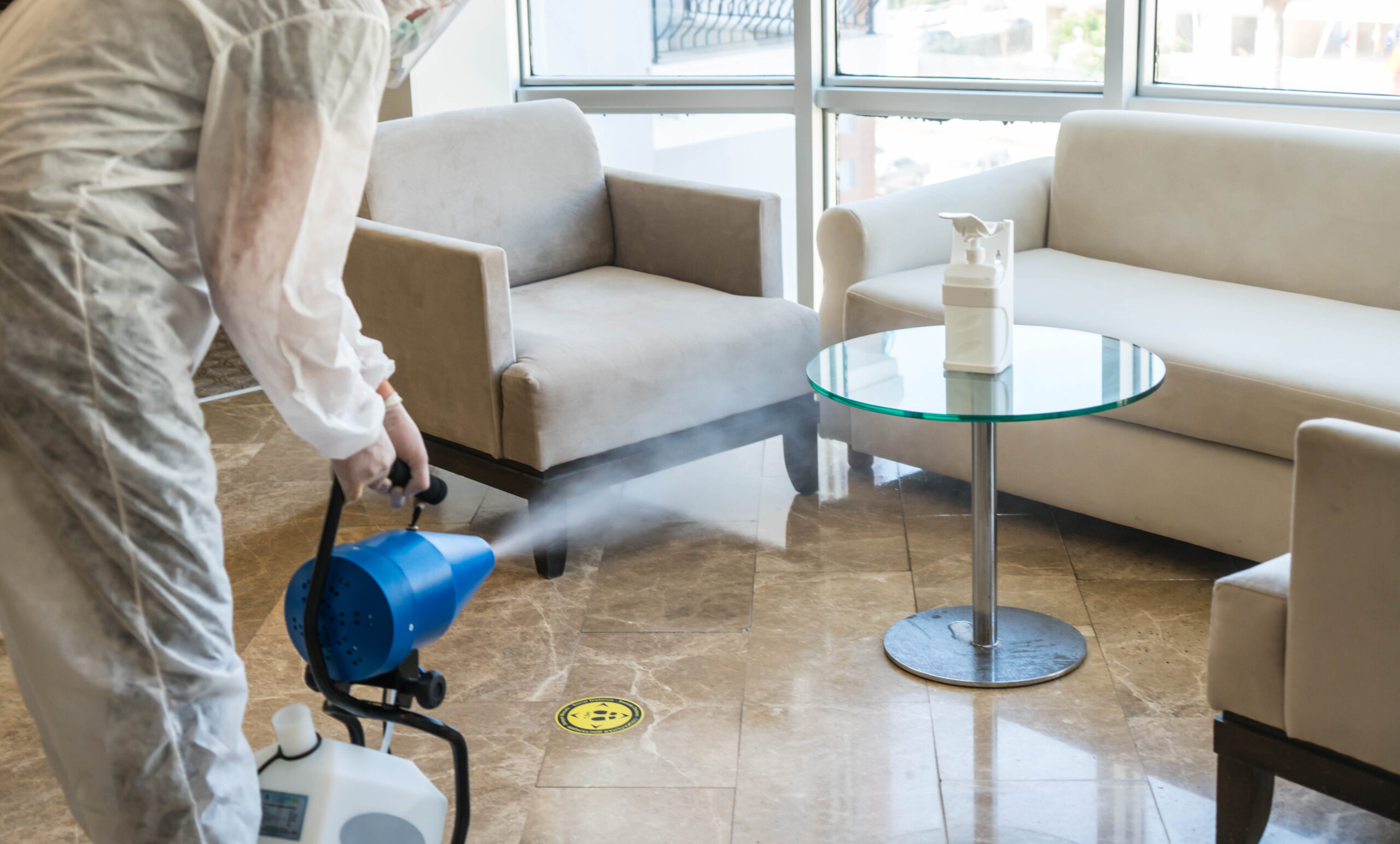 Don't Become Another Disinfectant Fogging Victim