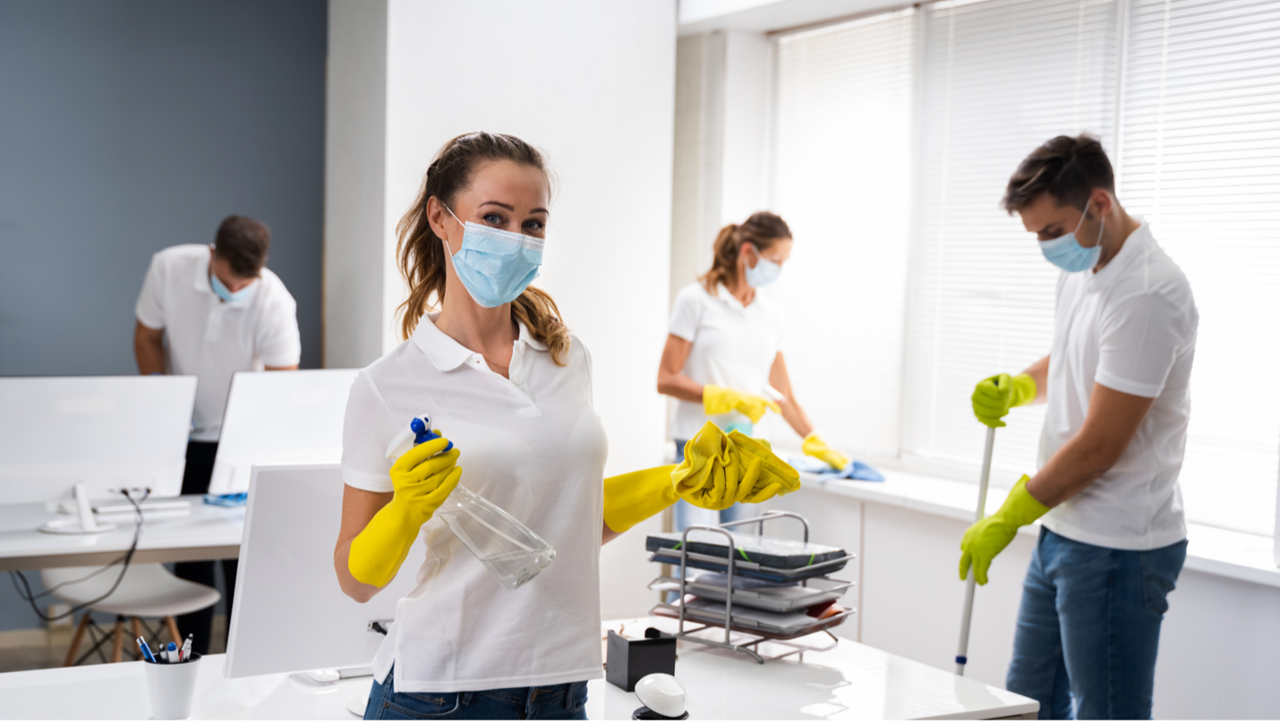 Tips For How To Clean Your Office