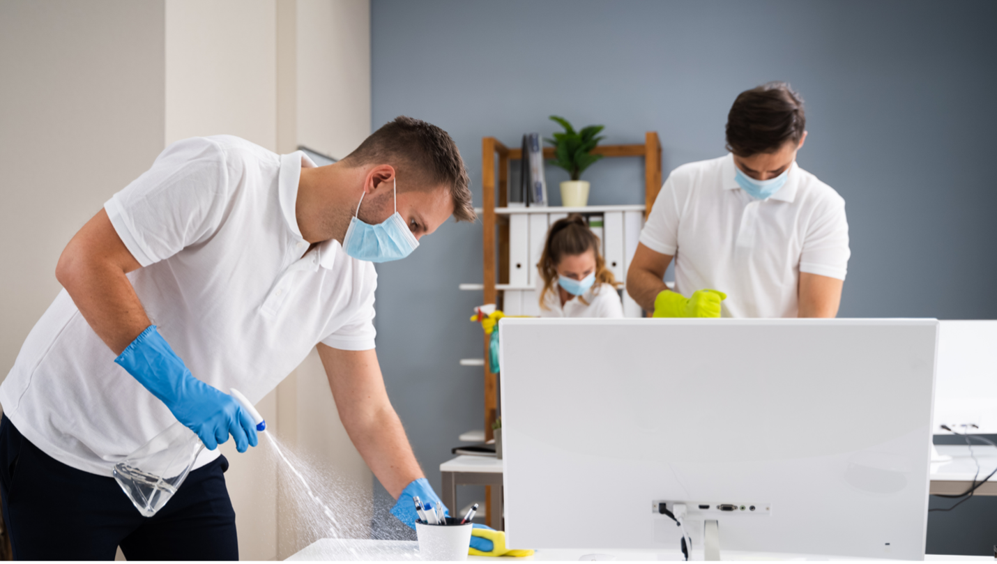 office cleaning service in Lenexa
